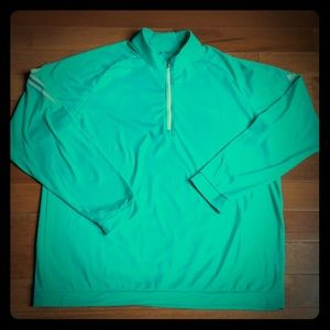 adidas half zip golf pullover men's XL
